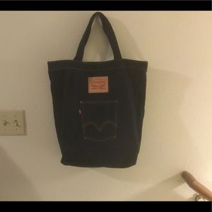 Levis denim tote bag